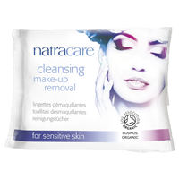 Natracare Cleansing Make-Up Removal Wipes - 20 Wipes