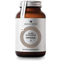Wild Nutrition Pure Strength Omega 3 - 120 Capsules