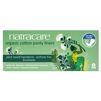 Natracare Organic Ultra Thin Panty Liners - 22 Pack