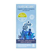 Natracare Applicator Tampons - Regular - 16 Pack