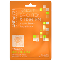 Andalou Instant Brighten & Tighten Facial Sheet Mask - 1 Mask