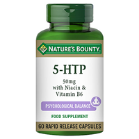 Nature`s Bounty 5 HTP - 60 x 50mg Capsules