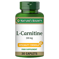 Nature`s Bounty L-Carnitine - 30 x 500mg Caplets