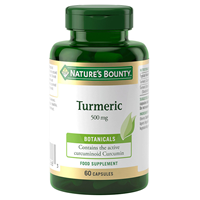Nature`s Bounty Turmeric - 60 x 500mg Capsules