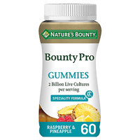 Nature`s Bounty Biotic Pro 2 Billion - 60 Gummies - Best before date is 30th November 2020