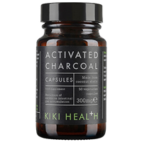 KIKI Health Activated Charcoal Capsules - 50 Vegicaps