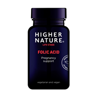 Folic Acid - Vitamin B9 - 90 x 400mcg Tablets