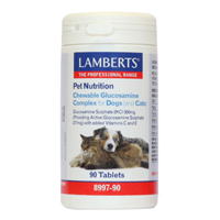 LAMBERTS Glucosamine Complex for Dogs and Cats - 90 Tabs