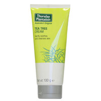 Thursday Plantation Tea Tree Cream - 100ml - Expiry date is 30th April 2021