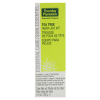 Thursday Plantation Tea Tree Head Lice Kit - 125g - Best before date is 30th June 2018