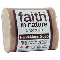 Faith in Nature Chocolate Bar Soap - 100g