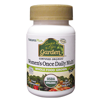 Source of Life Garden Organic Women`s Once Daily Multi - 30 Tablets