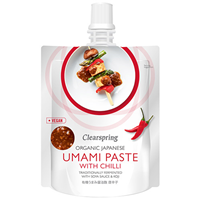 Clearspring Organic Japanese Umami Paste with Chilli - 150g