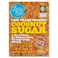 Lucy Bee Organic Fair Trade Coconut Sugar - 500g