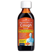 Natures Aid Herbal Mucus Cough Syrup - 150ml