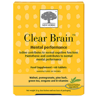 New Nordic Clear Brain - 60 Tablets