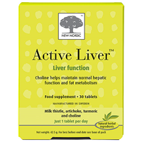 New Nordic Active Liver - 30 Tablets