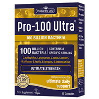 Natures Aid Pro-100 Ultra - Ultimate Daily Support - 30 Capsules