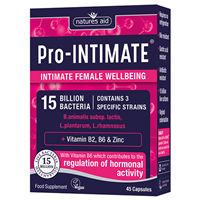 Natures Aid Pro-INTIMATE - Intimate Female Wellbeing - 45 Capsules - Best before date is 30th April 2020