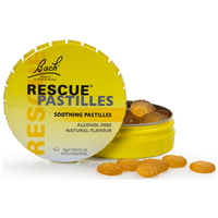 Bach RESCUE Pastilles - Orange & Elderflower - 50g