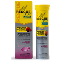 Bach RESCUE PLUS - Berry - 15 Effervescent Tablets