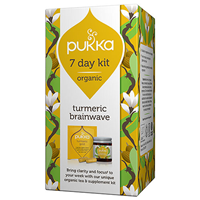 Pukka Turmeric Brainwave 7 Day Kit