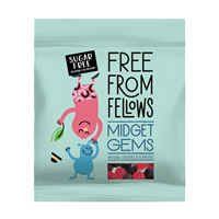 Free From Fellows Midget Gems - 100g