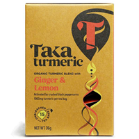 TAKA Turmeric Ginger & Lemon - 15 Tea Sachets