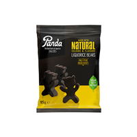 Panda Liquorice Bear Shapes - 125g