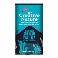 Creative Nature Raw Super Greens - Spirulina Powder - 150g