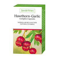 Jan de Vries Hawthorn-Garlic Complex - 90 Capsules