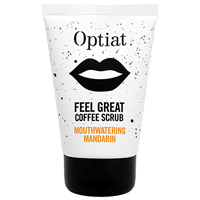 Optiat Mouthwatering Mandarin Coffee Scrub - 90g