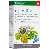 Dr. Dunner PhytoVitality - Rhodiola - 60 Capsules