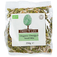 Tree of Life Organic Omega 4 Seed Mix - 250g