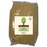 Tree of Life Organic Millet Grain - 500g