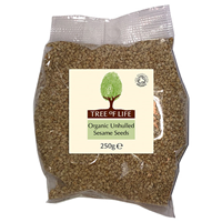 Tree of Life Organic Unhulled Sesame Seeds - 250g