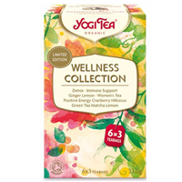 Yogi Tea Organic Wellness Collection - 6 x 3 Teabags