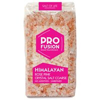 Profusion Himalayan Rose Pink Crystal Salt - Coarse - 500g