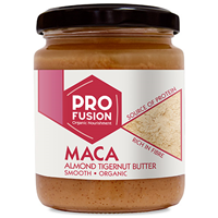 Profusion Organic Maca Almond Tigernut Butter - Smooth - 250g