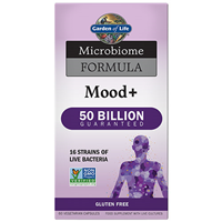 Garden of Life Microbiome Formula - Mood+ - 60 Vegicaps