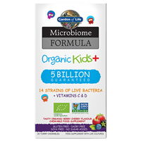 Garden of Life Microbiome Formula Organic Kids+ - 30 Chewable Tablets
