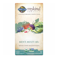 Garden of Life mykind Organics - Men`s Multi 40+ - 60 Tablets