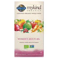 Garden of Life mykind Organics - Women`s Multi 40+ - 60 Tablets