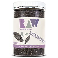 Raw Health Organic Black Chia Seeds - 450g