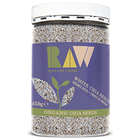 Raw Health Organic White Chia Seeds - 450g