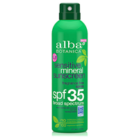 Alba Botanica Sensitive Mineral Sunscreen Spray SPF 35 - 177ml