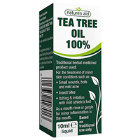 Natures Aid Tea Tree Oil 100% - 10ml