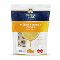 Manuka Health MGO 400+ Lozenges Lemon - 250gm - 58 Pack - Best before date is 30th July 2020