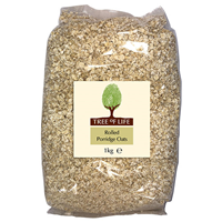 Tree of Life Rolled Porridge Oats - 1kg