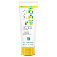 Andalou Sunflower & Citrus Styling Gel Brilliant Shine - 200ml